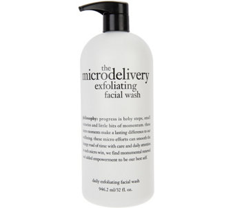 philosophy super-size microdelivery exfoliating wash, 32 oz. - A74085