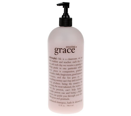 philosophy super-size amazing grace perfumed 3-in-1 gel