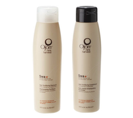Ojon Swa Fortifying Shampoo & Conditioner, 8.5 fl oz