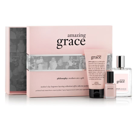 philosophy amazing grace fragrance trio with gift box