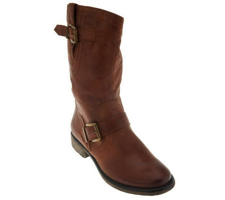 BareTraps Samantha Boots with Buckle Detail