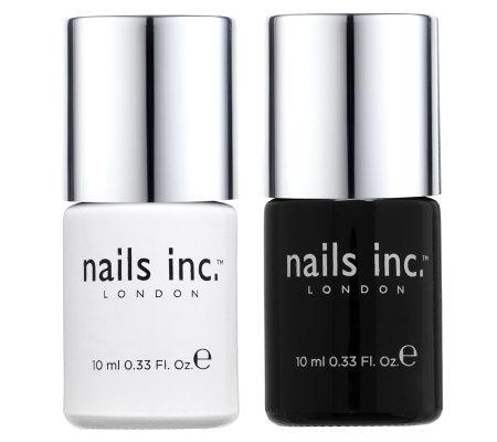 nails inc. Kensington Caviar Base & Top Coat Duo - Page 1 — QVC.com