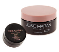 Josie Maran Whipped Argan Body Butter 8oz. and Travel Size