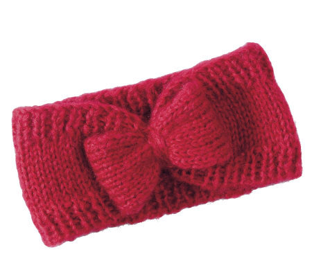 San Diego Hat Co. Women's Headband with CrochetBow
