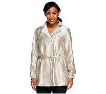 Linea by Louis Dell'Olio Anorak Jacket with Zipper - A251586