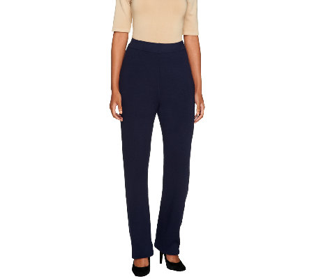 Linea by Louis Dell'Olio Petite Whisper Knit Pants