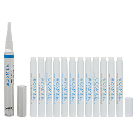 Gosmile 6 Day Ampoule Teeth Whitening System with On the Go Pen