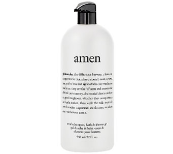 philosophy 32 oz amen men's shower gel Auto-Delivery - A276686