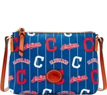 Dooney & Bourke MLB Nylon Indians Crossbody Pouchette