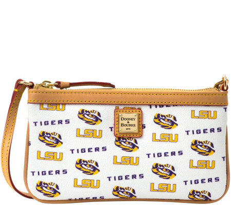Dooney & Bourke NCAA Louisiana State University Slim Wristlet