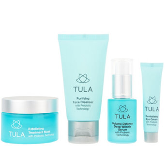 TULA Probiotic Exfoliating Mask and Travel Set Auto-Delivery - A285586