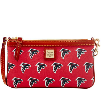 Dooney & Bourke NFL Falcons Large Slim Wristlet - A285786