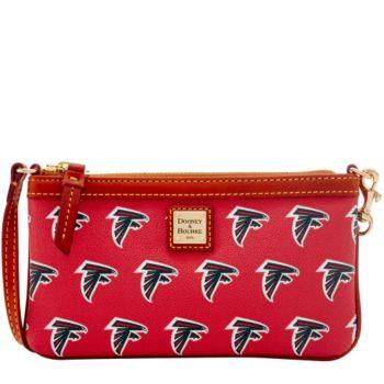 Dooney & Bourke NFL Falcons Large Slim Wristlet
