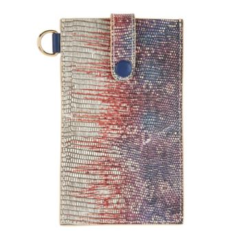 LOGO by Lori Goldstein Embossed Phone Sleeve with RFID
