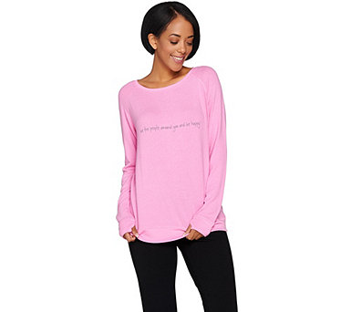 Peace Love World Affirmation Comfy Knit Top - A288586
