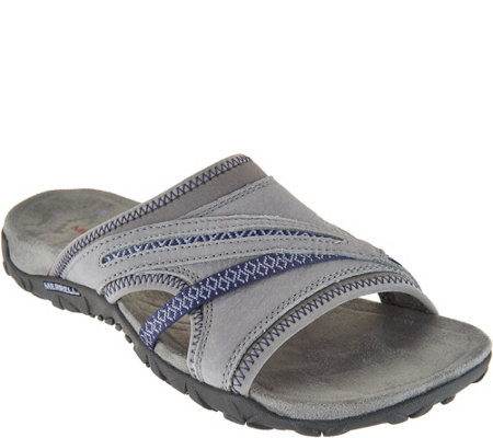 Merrell Leather Slip-On Sandals - Terran Slide II