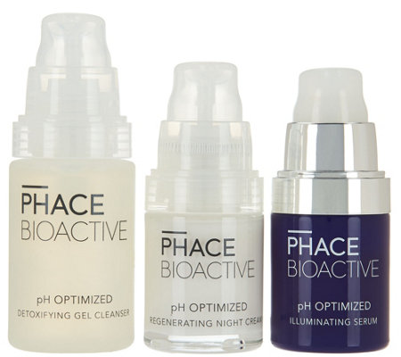 PHACE BIOACTIVE pH Optimized 3-piece Bright Face Kit