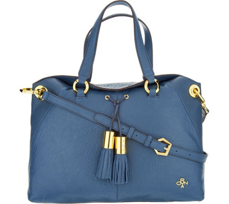 orYANY Lamb Leather Satchel Bag -Kristen