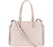 orYANY Pebble Leather Convertible Tote - Mackenzie - A304486