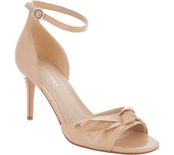 5bea30f35e6 Marc Fisher Ankle Strap Pumps with Bow Detail - Brodie - A310186