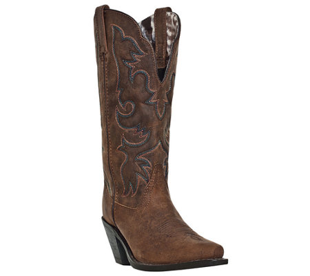Laredo Leather Cowboy Boots - Access