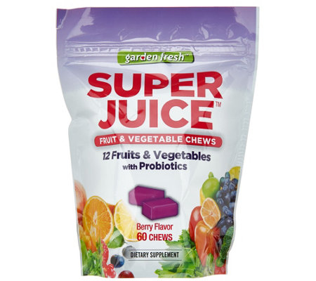 Garden Fresh Berry Flavored Super Juice Chews Auto-Delivery
