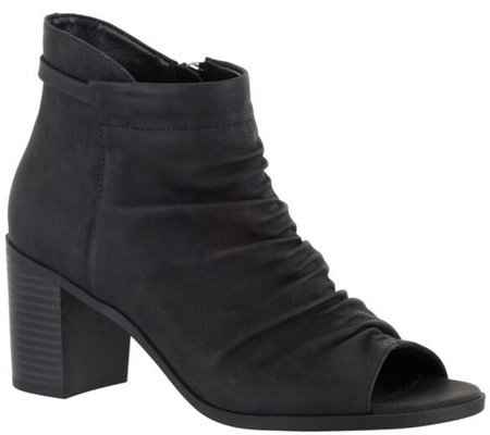 Easy Street Peep Toe Booties - Sansa
