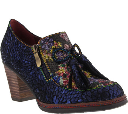 Spring Step L'Artiste Leather Slip-On Shoes - Madalena