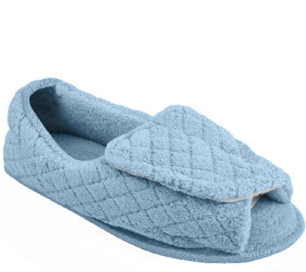 MUK LUKS Quilted Micro Chenille Adjustable Full Foot - A170087