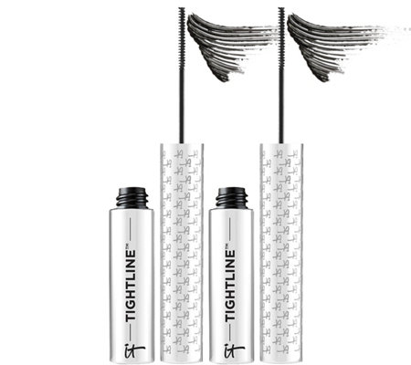 IT Cosmetics TIGHTLINE Full Lash Line Black Mascara Primer Duo