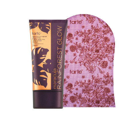 tarte Maracuja Rainforest Glow Waterproof Body Bronzer & Mitt