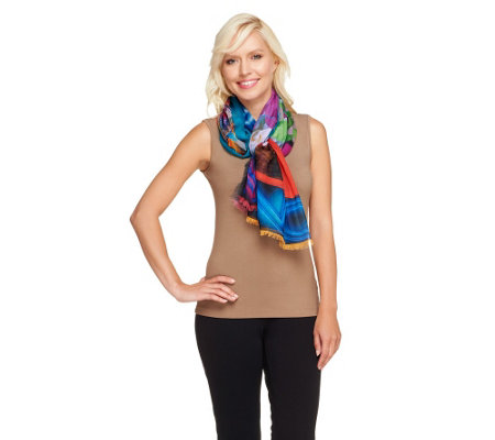 "Joan Rivers Fashion ""Do It Now!"" Scarf"