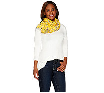 "Denim & Co. 28"" x 72"" Bandana Printed Scarf - A263287"