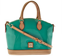 Dooney & Bourke Patent Leather Domed Satchel - A277587