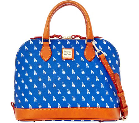 Dooney & Bourke MLB Dodgers Zip Zip Satchel