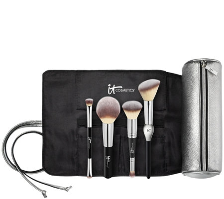 how to use it cosmetics brushes