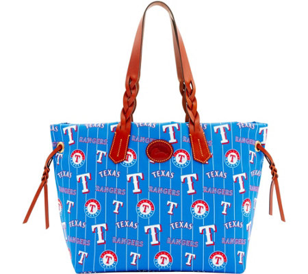 Dooney & Bourke MLB Nylon Rangers Shopper