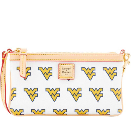 Dooney & Bourke NCAA West Virginia University Slim Wristlet
