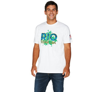 Olympics Rio Team USA 2016 Men's Short Sleeve T-Shirt - A284087