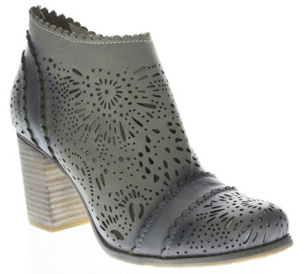 L'Artiste by Spring Step Leather Booties - Bao