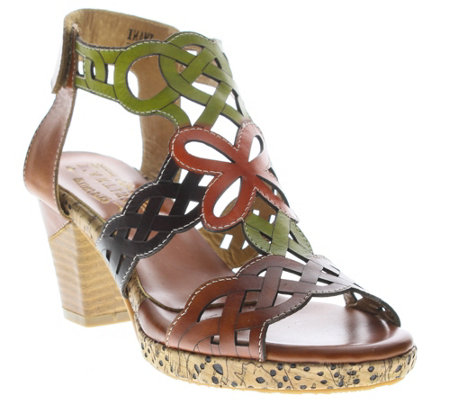 Spring Step L'Artiste Leather Sandals - Imani