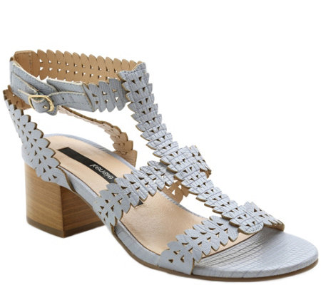 Kensie Open Toe Heel Sandals - Hepburn