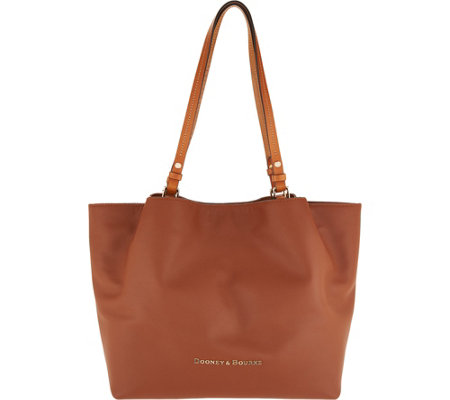 """As Is"" Dooney & Bourke City Smooth Leather Shoulder Bag"