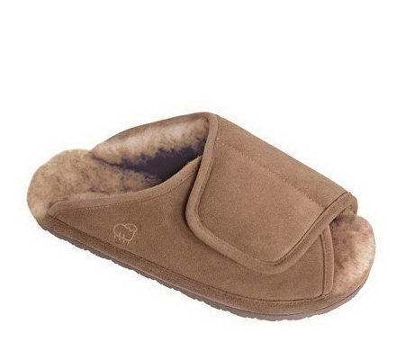Lamo Men's Sheepskin Wrap Slippers