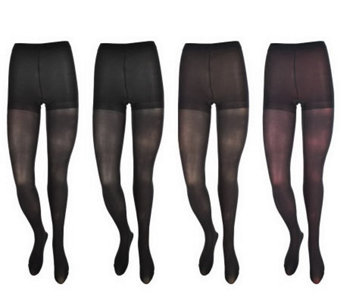 Legacy Set of Four Soft & Light Everyday Tights - A216988