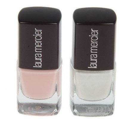 Laura Mercier Nail Lacquer Duo