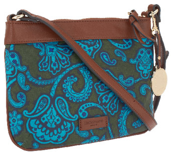 Liz Claiborne New York Top Zip Closure Crossbody - A256688