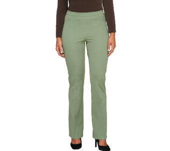 Isaac Mizrahi Live! Petite 24/7 Stretch Boot Cut Pants - A259088