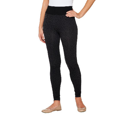 Legacy Cheetah Print Jacquard Leggings