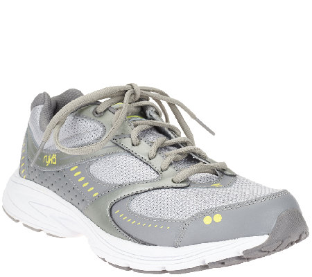 Ryka Leather & Mesh Training Sneakers - Circuit
